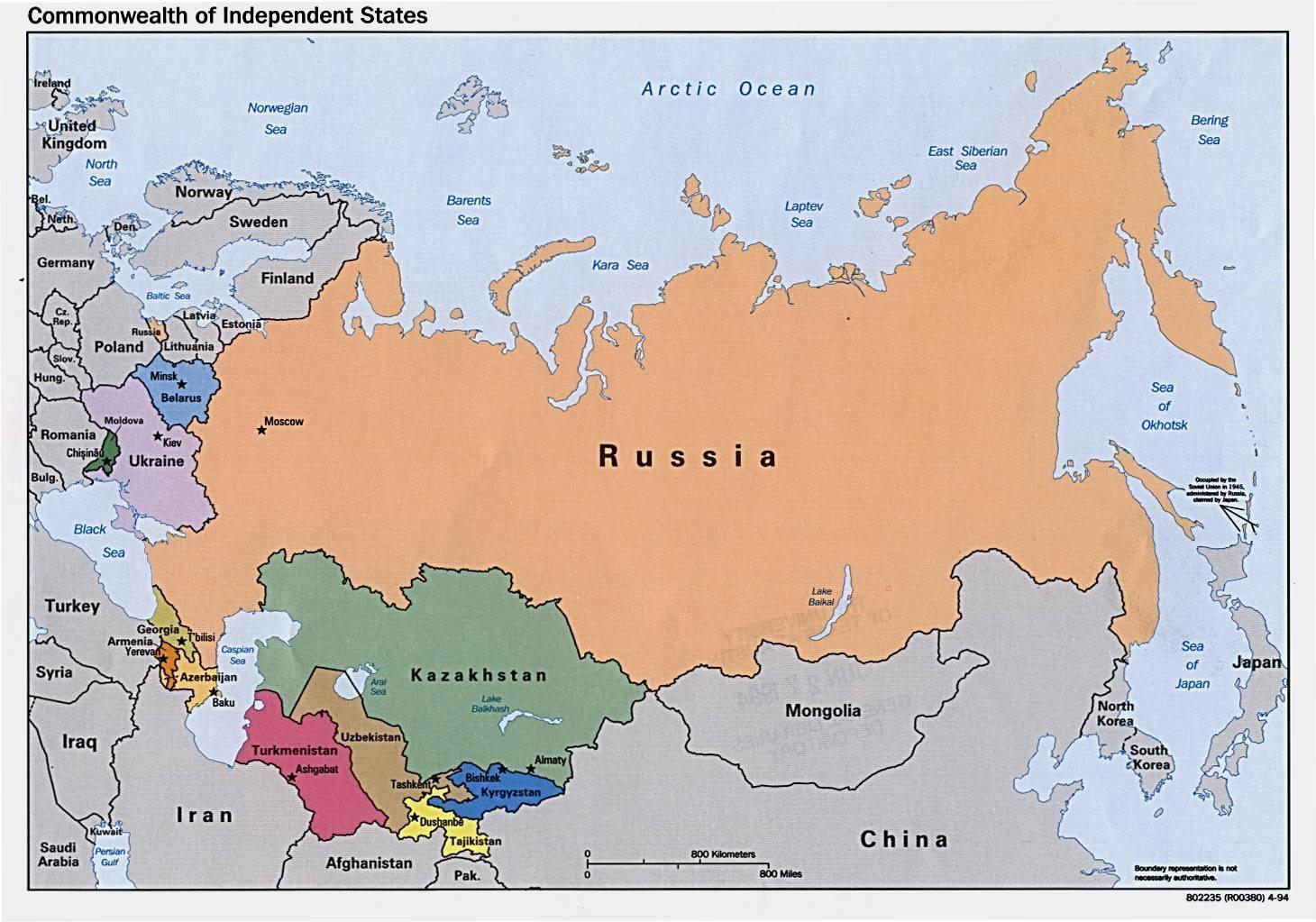 Map Of Asia 800.Rusija Mongolija Zemėlapis Zemėlapis Rusija Mongolija Rytų